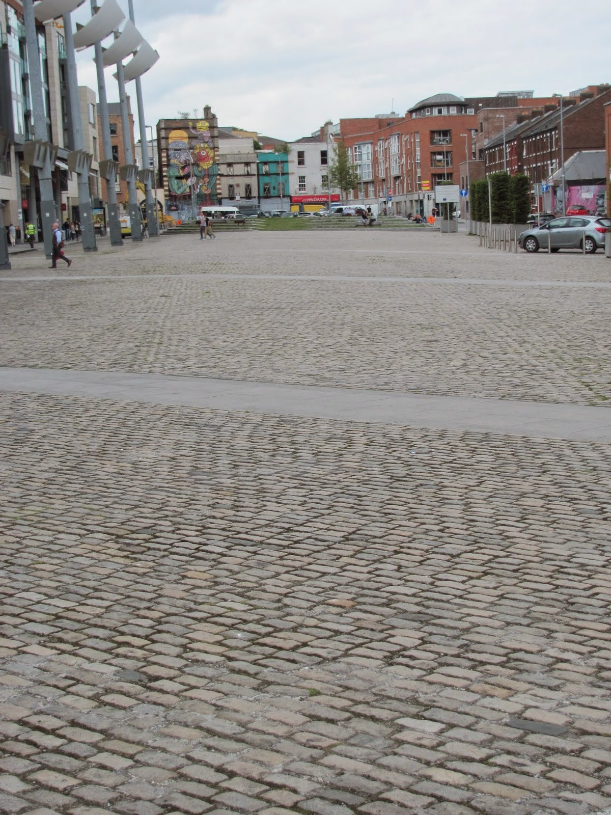 Smithfield Square Dublin, Ireland
