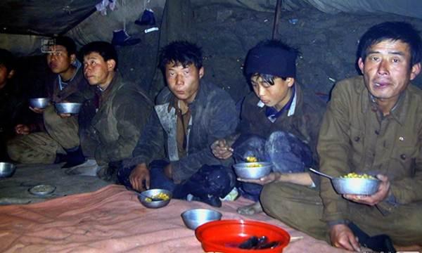 pekerja korea utara kelaparan