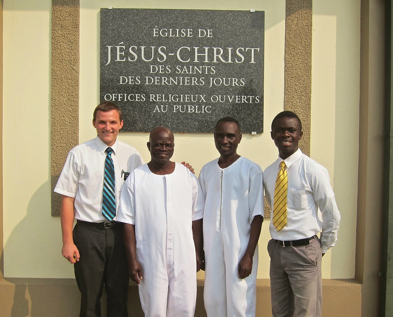 Elder Masse Baptism Sept 2014