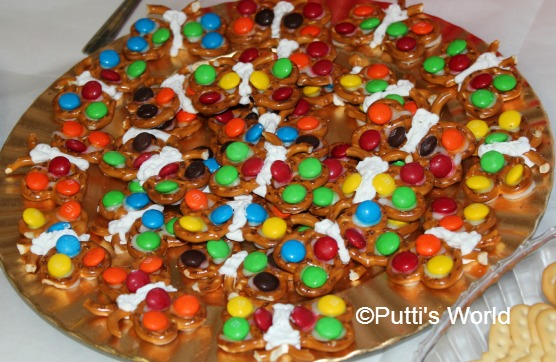 Pretzel Butterfly Themed Food Kids party