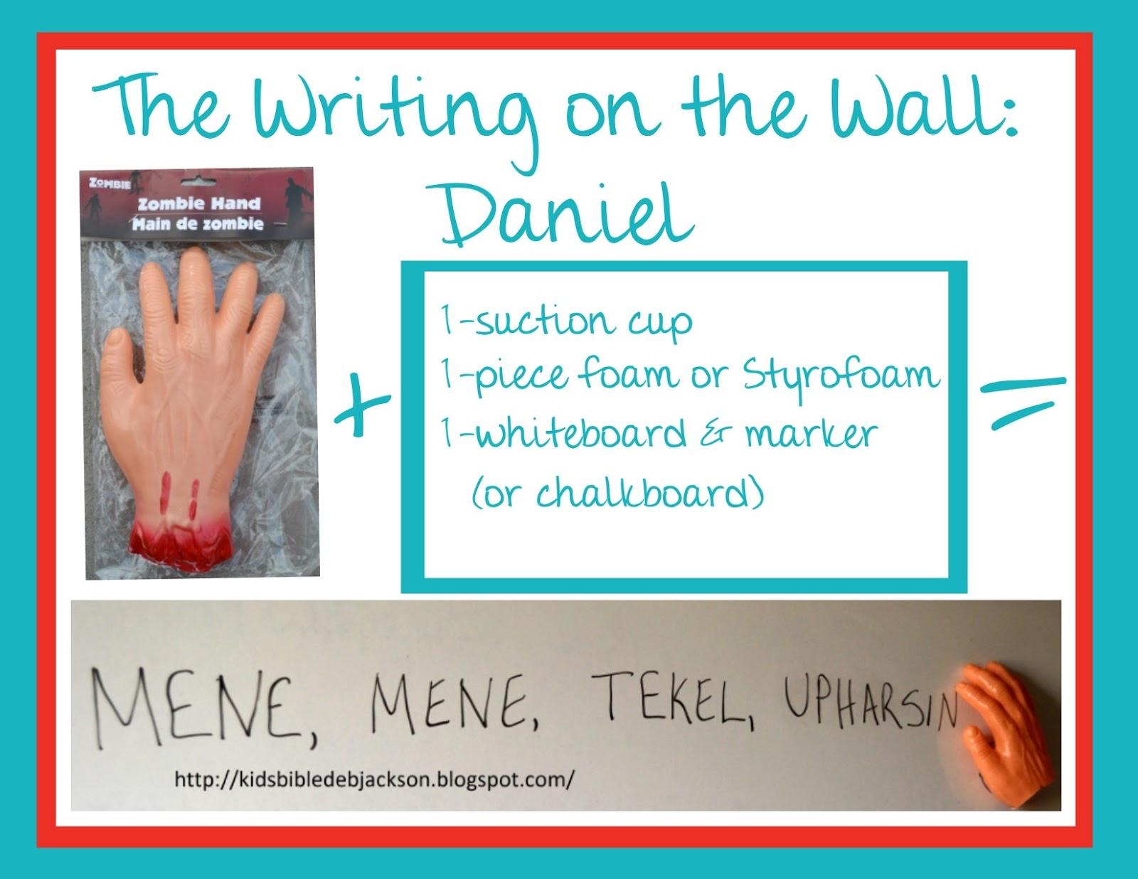 bible fun for kids daniel the writing on the wall u0026 the lion u0027s den