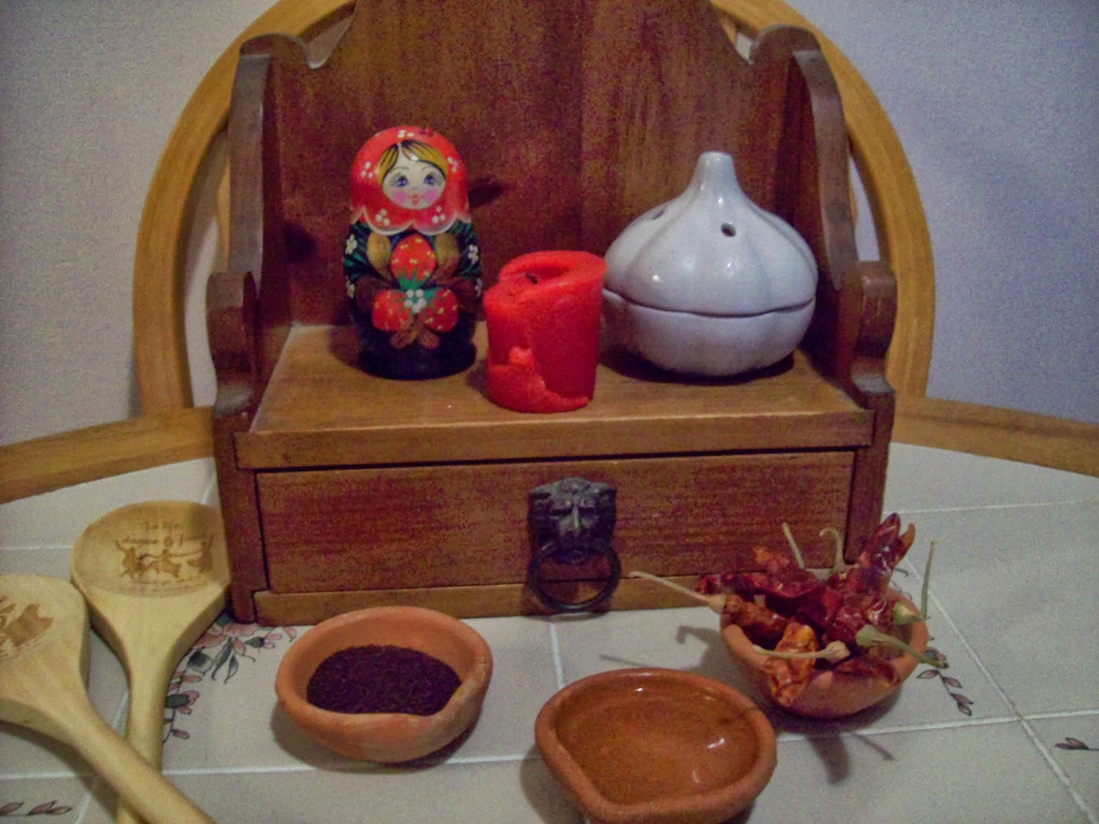 Guide to the Magical Path: How to Set up a Kitchen Witch Altar