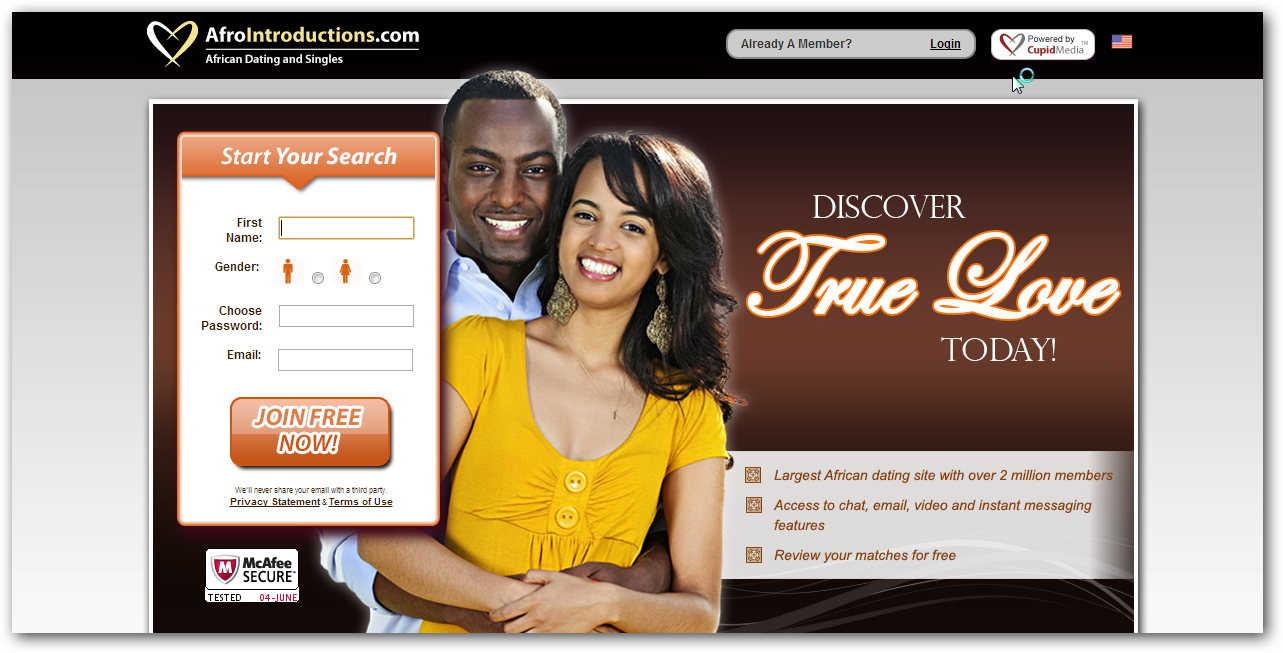 afro dating website Meet african singles at the largest african dating site with over 25 million  members join free now to get started.