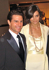Tom Cruise and Kate Holmes
