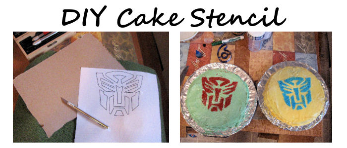 Leading Them To The Rock EASY DIY Transformers Cakes