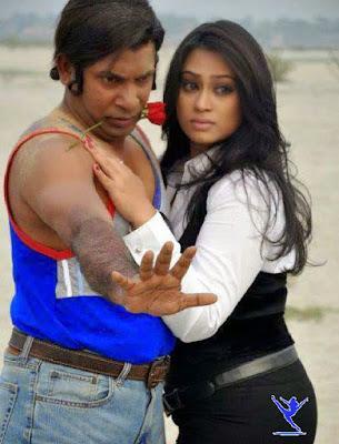 BD Movie Actress Sadika Parvin Popy with Mosharaf Karim