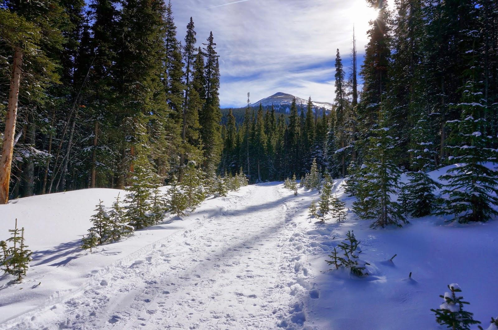 Go Hike Colorado Butler Gulch Winter