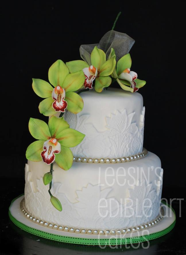 penang wedding cakes by leesin orchid wedding cakes