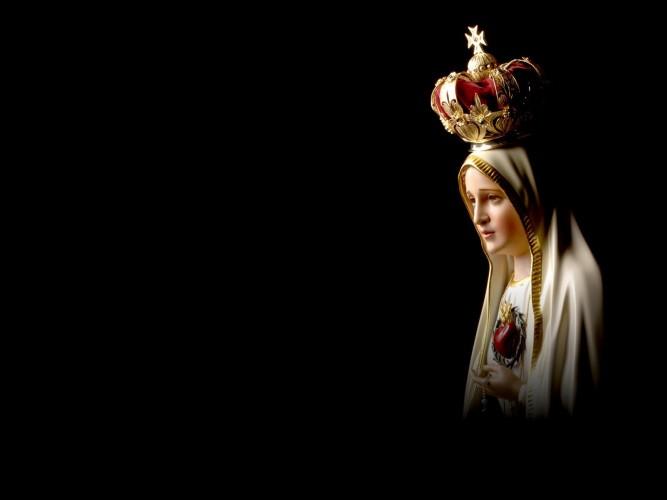 MARIA IMMACOlATA DI FATIMA NOI SIAMO FEDELI A TE TOTUS TUUS MAMMA
