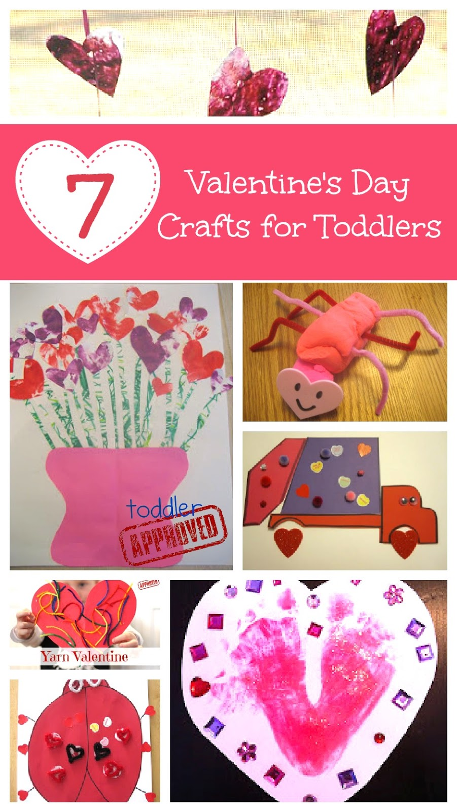 Toddler approved valentine s day crafts for toddlers