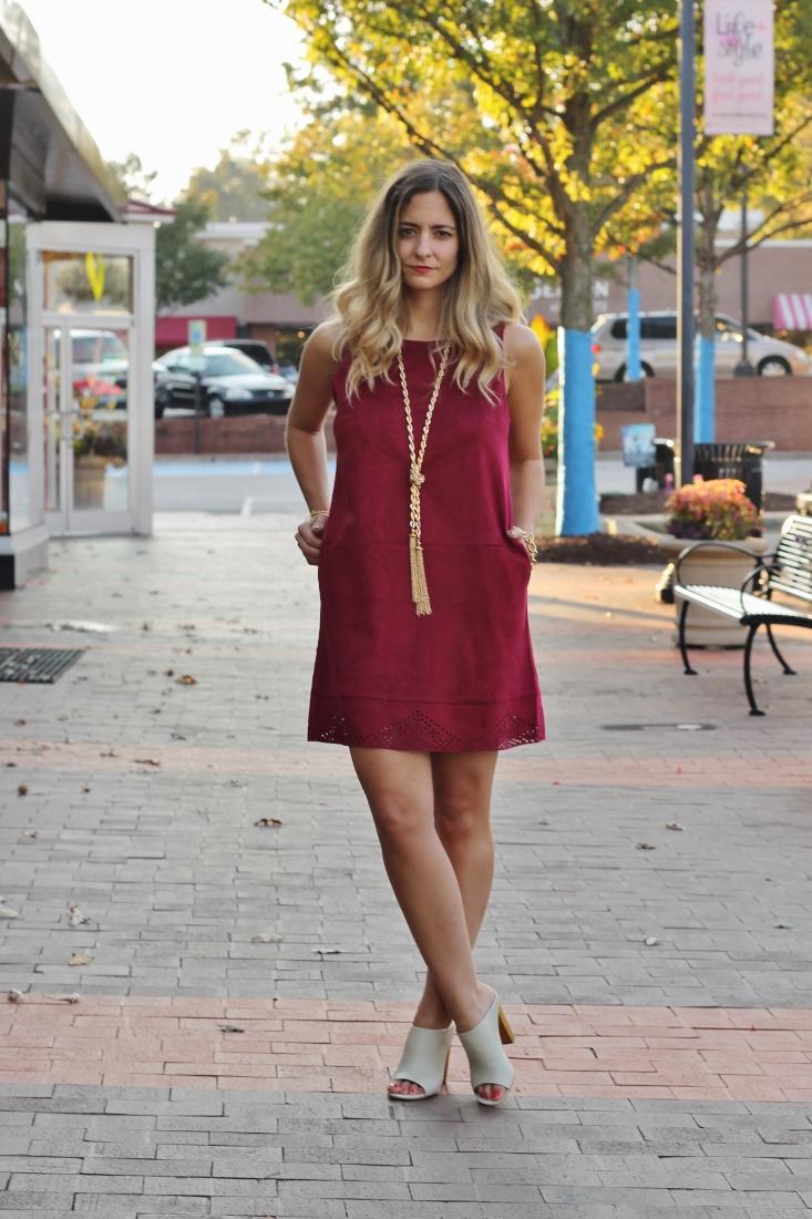 Garnet and Gold Dresses