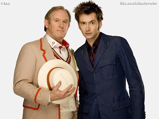 The Tenth Doctor Met the Fifth Doctor in mini-episode Time Crash border=