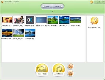 Phần mềm tạo slideshow ảnh