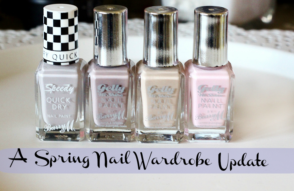 barry m quick dry pit stop, gelly almond, gelly lychee, gelly rose hip