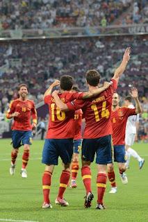 Resultado España vs Francia – Eurocopa 2012