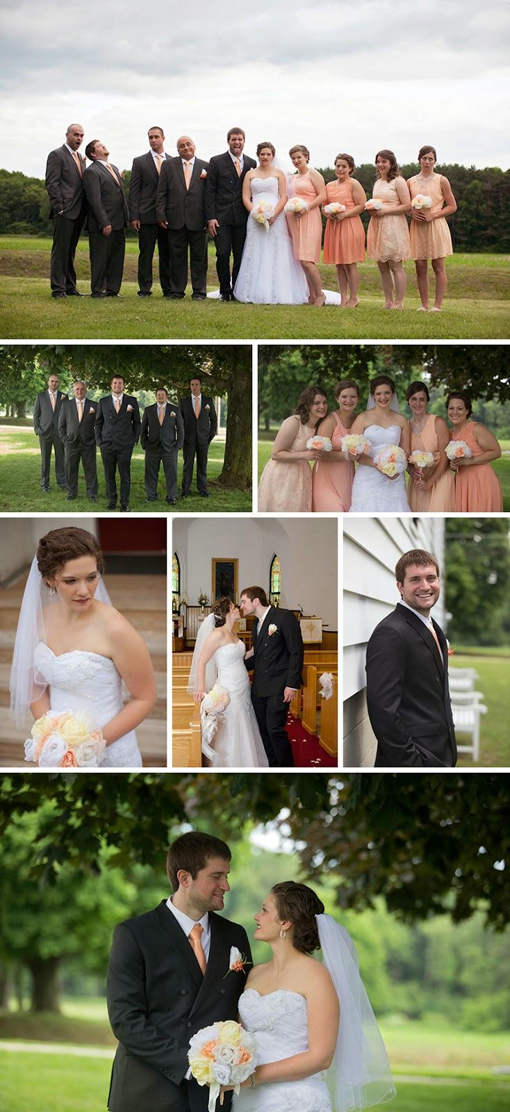 beautiful Western PA wedding. Reminisce Banquet Hall Emlenton PA Sandra Jackson Photography