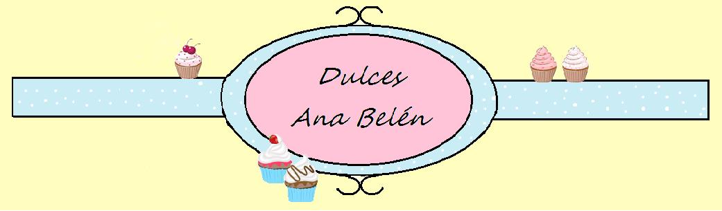 Dulces Ana Belén