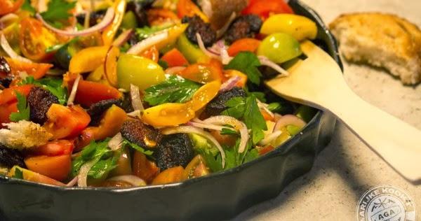 Marijke kookt salade van de liefde - Canape roma huis van de wereld ...