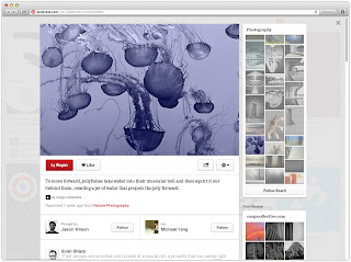 pinterest redesign