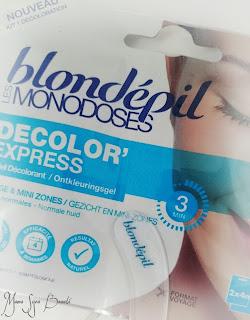 Les Monodoses Blondépil Décolor'Express
