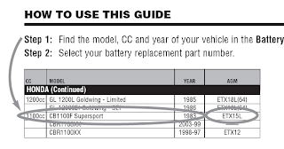 CQ Batteries Powersport Manual