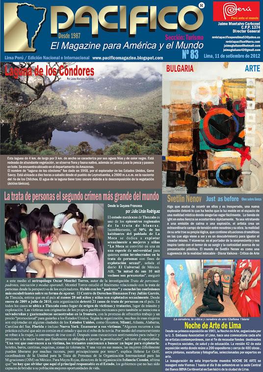 Revista Pacífico Nº 83 Turismo