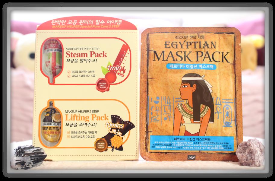 겟잇뷰티박스 by 미미박스 memebox beautybox # Special #19 Cleansing Kit unboxing review box makeup helper special pore care ferderma egyption mask