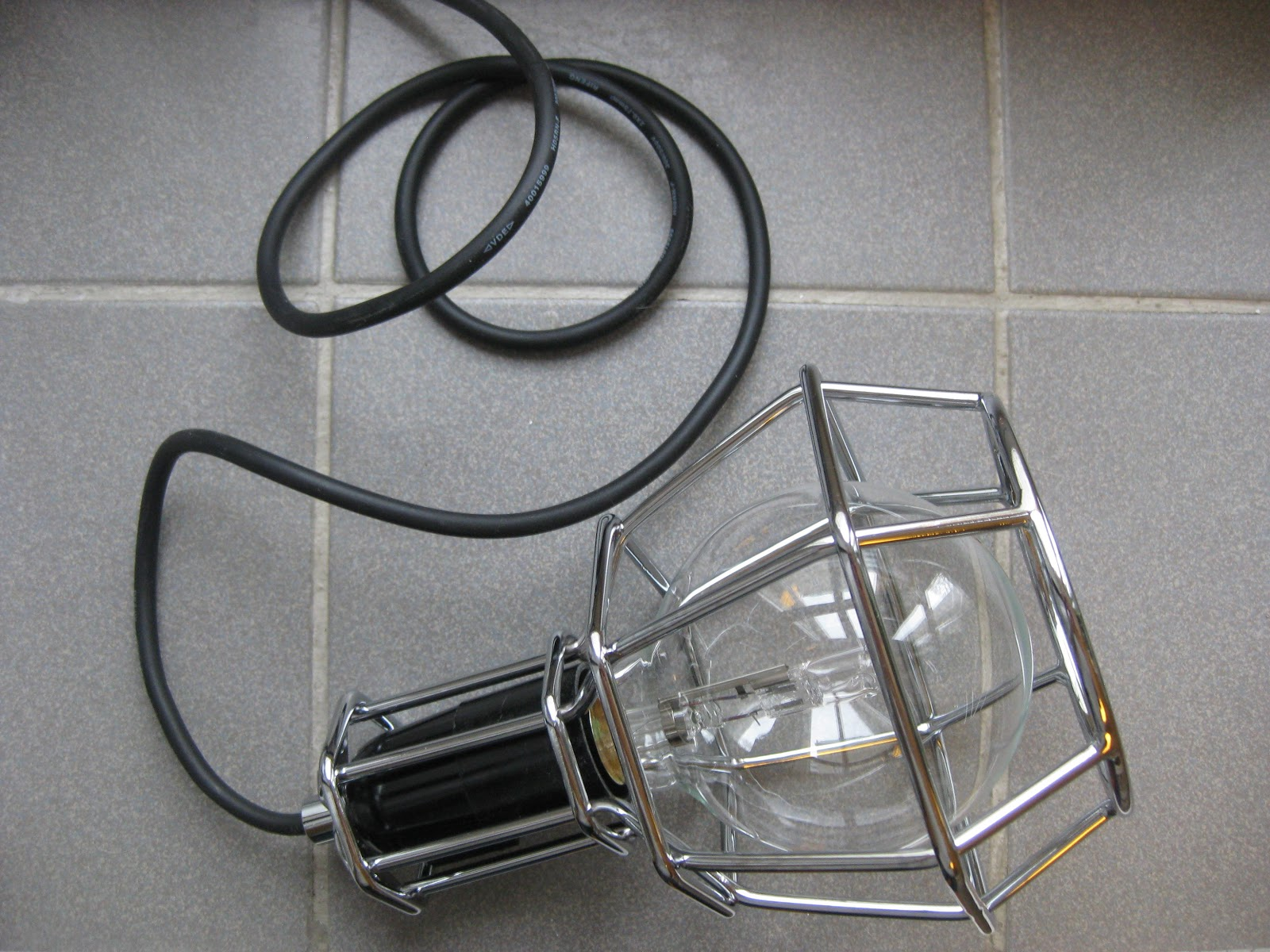I Like The Industrial Look Of It And Even Though Iu0027m Not Living In A Loft I  Think It Looks Great In My Apartment Too. The Work Lamp Goes Well As A ...