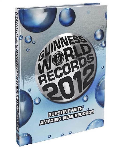 Los Records más impresionantes del año 2012 - Libro Guinness de Récords