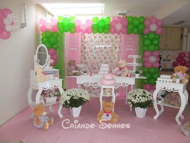 enfeites para festa infantil tema jardim : enfeites para festa infantil tema jardim:Tema Jardim das Ursas