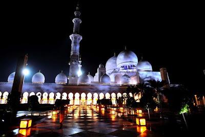 Masjid Agung Sheikh Zayed Abu Dhabi Uni Emirat Arab