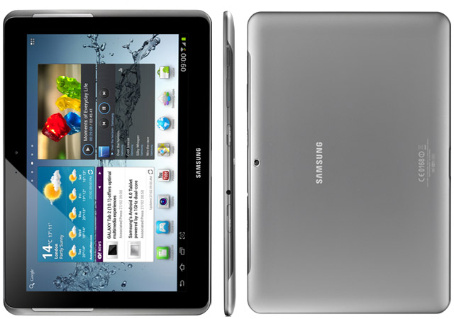 galaxy 4 tablet how to access external hard drive