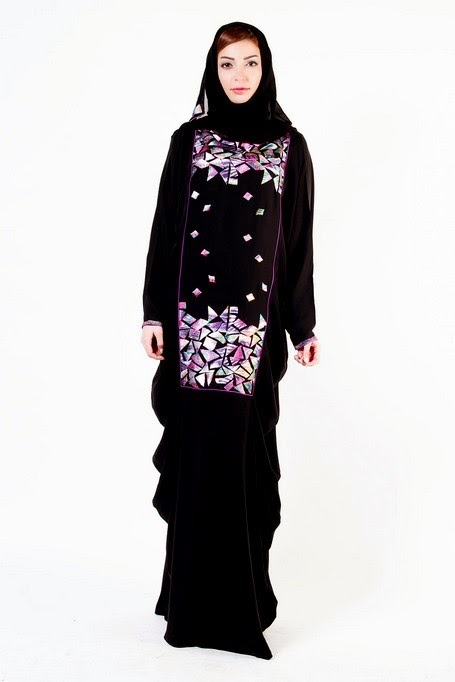 Abaya Designs 2014 In Pakistan