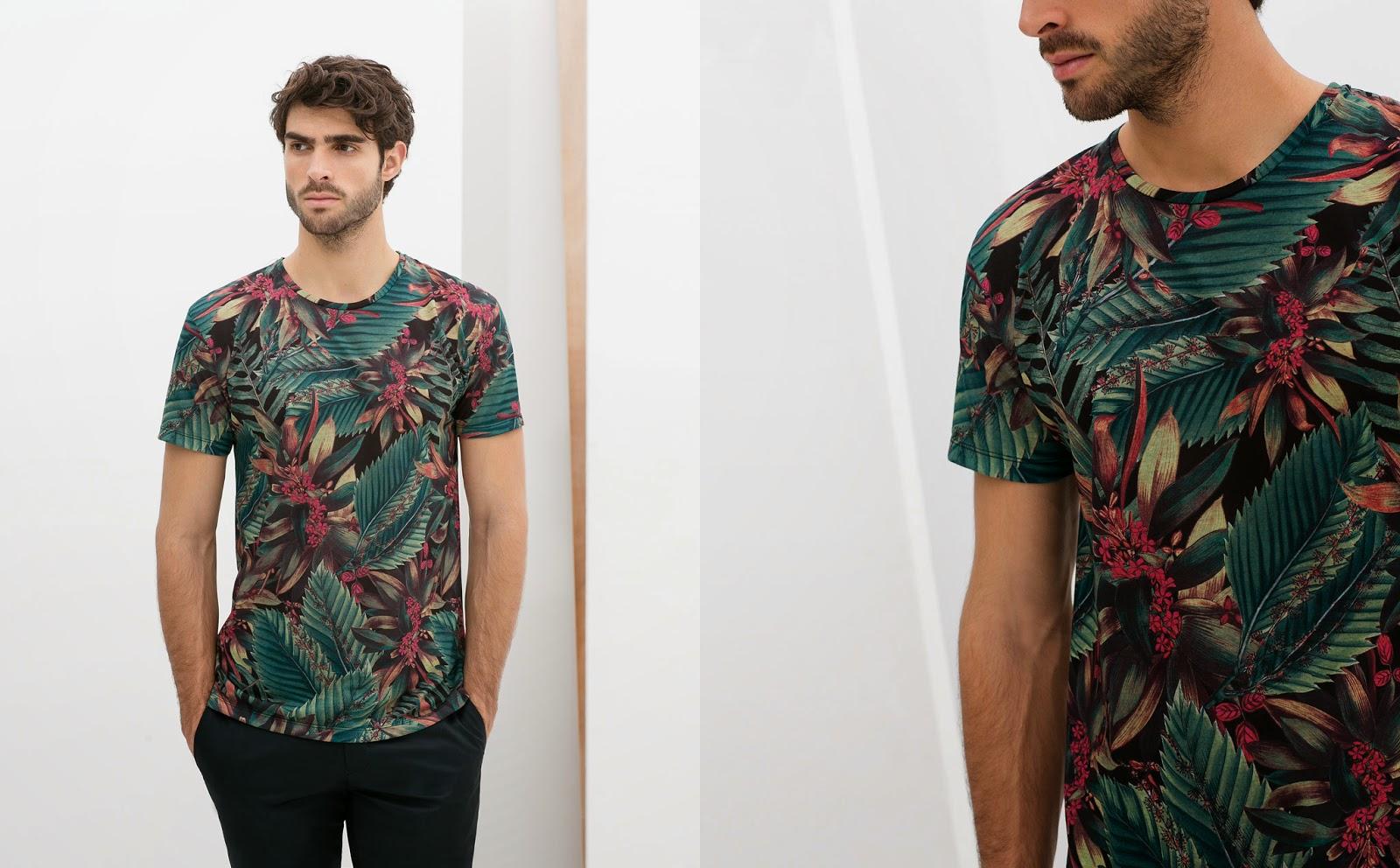 Wholesale nuevo estilo para hombre camisas estampadas