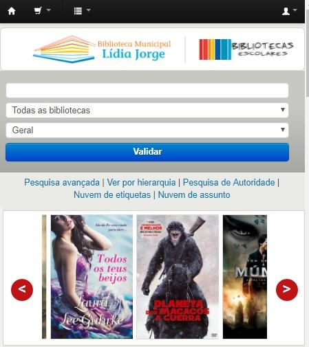 Catálogo: Bibliotecas de Albufeira