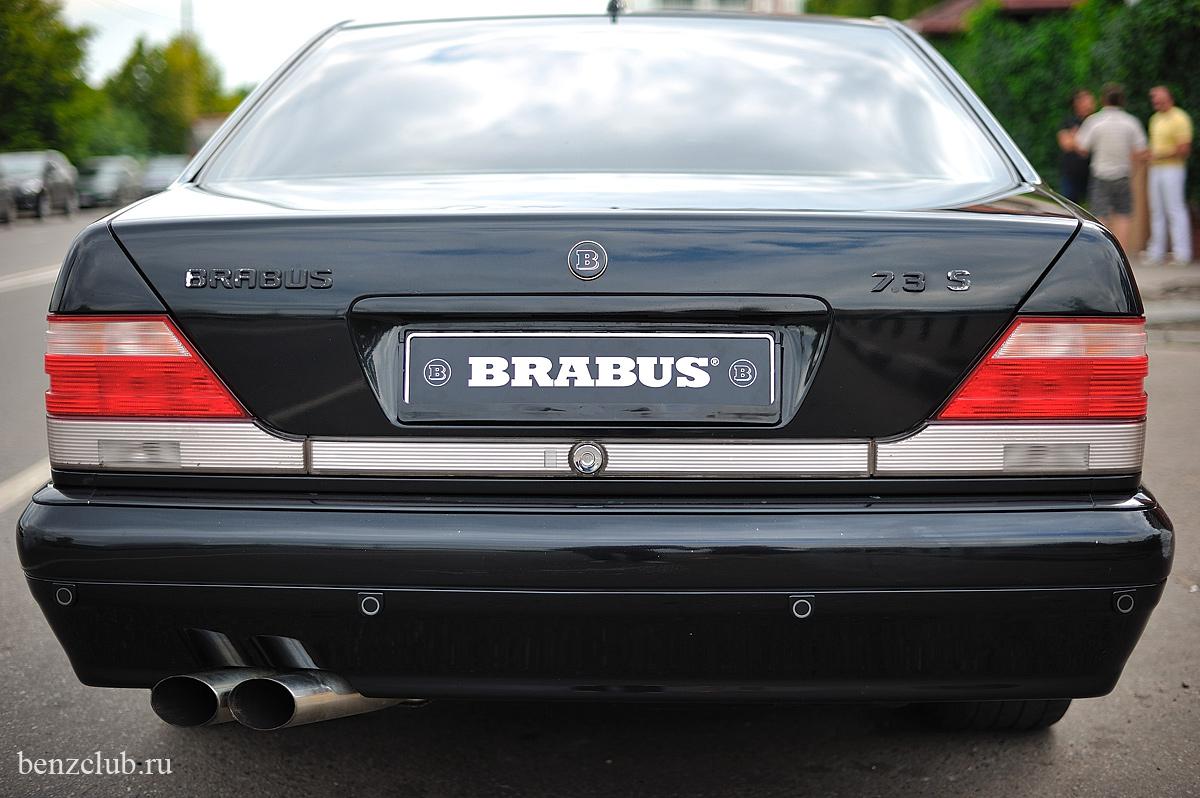 Mercedes Benz W140 Brabus 7 3 S Benztuning