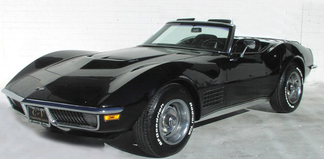The Hottest Muscle Cars In The World 1971 Corvette Origin