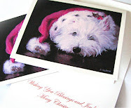 Westie Christmas Cards