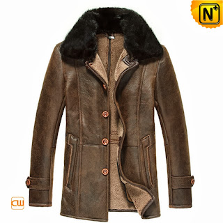 Sheepskin Coat Men