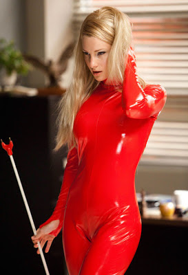 Britney Spears in Red Catsuit