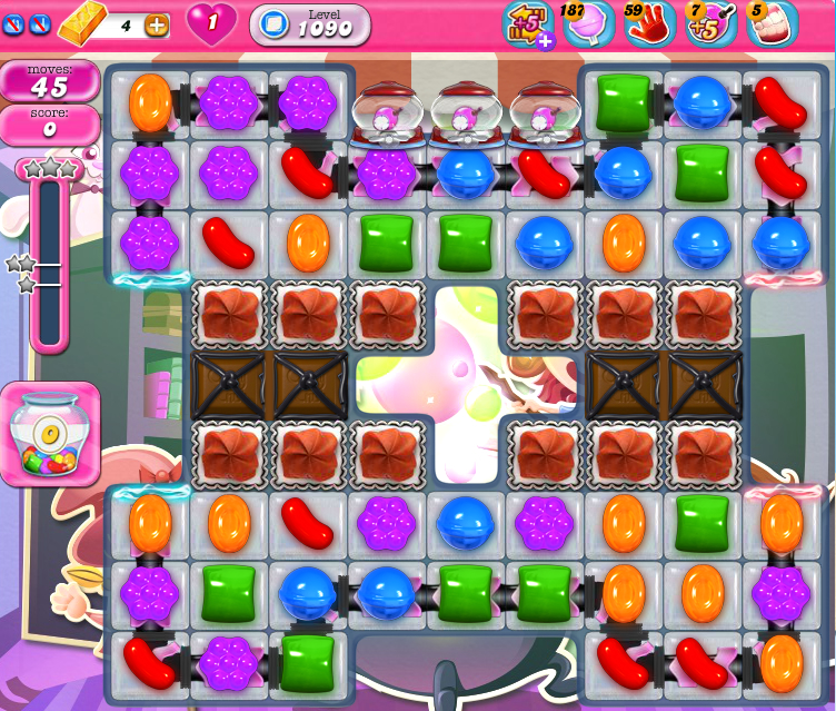 Candy Crush Saga 1090