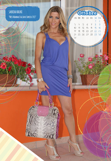 Calendario 2016 - Miss Mamma Italiana - ottobre