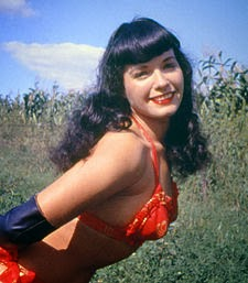 Irving Klaw Trio band name history - Irvin Klaw - Bettie Page