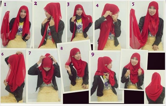 How to wear Hijab Indonesian Style Tutorial   Hijab