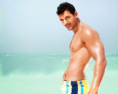 John-Abraham  Attractive Body in Dostana Full HD Wallpaper