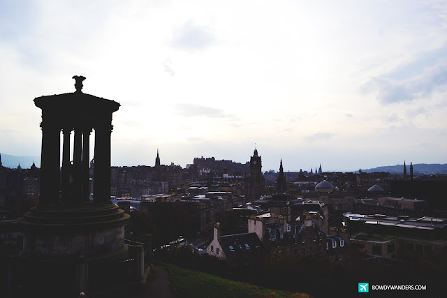 The Calton Hill in Scotland:  Photographs Of Edinburgh's Most Outstanding Panorama