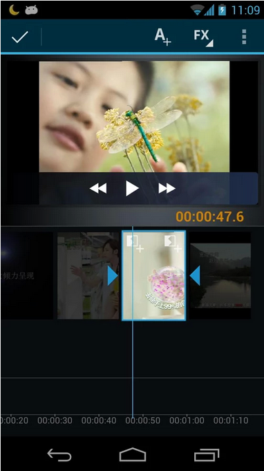 Movie Studio-Android Video Editing app