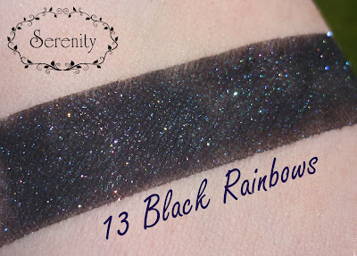 Notoriously Morbid 13 Black Rainbows Swatch