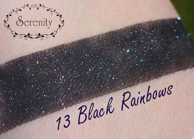 Notoriously Morbid 13 Black Rainbows Swatch
