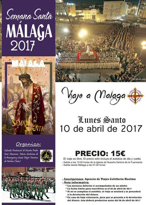 VIAJE A MÁLAGA EL LUNES SANTO